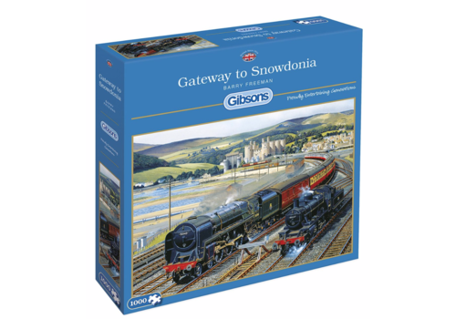 Gibsons La porte de Snowdonia - 1000 pièces