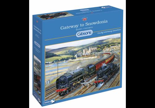Gibsons Toegangspoort tot Snowdonia - 1000 stukjes