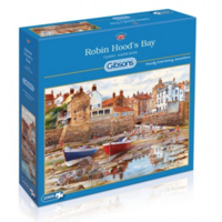 thumb-Robin Hood's Bay - puzzle de 1000 pièces-1