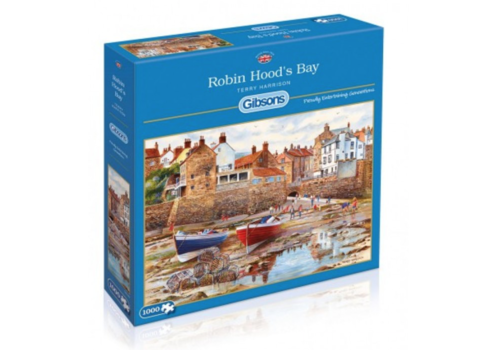 Gibsons Robin Hood's Bay - 1000 pieces