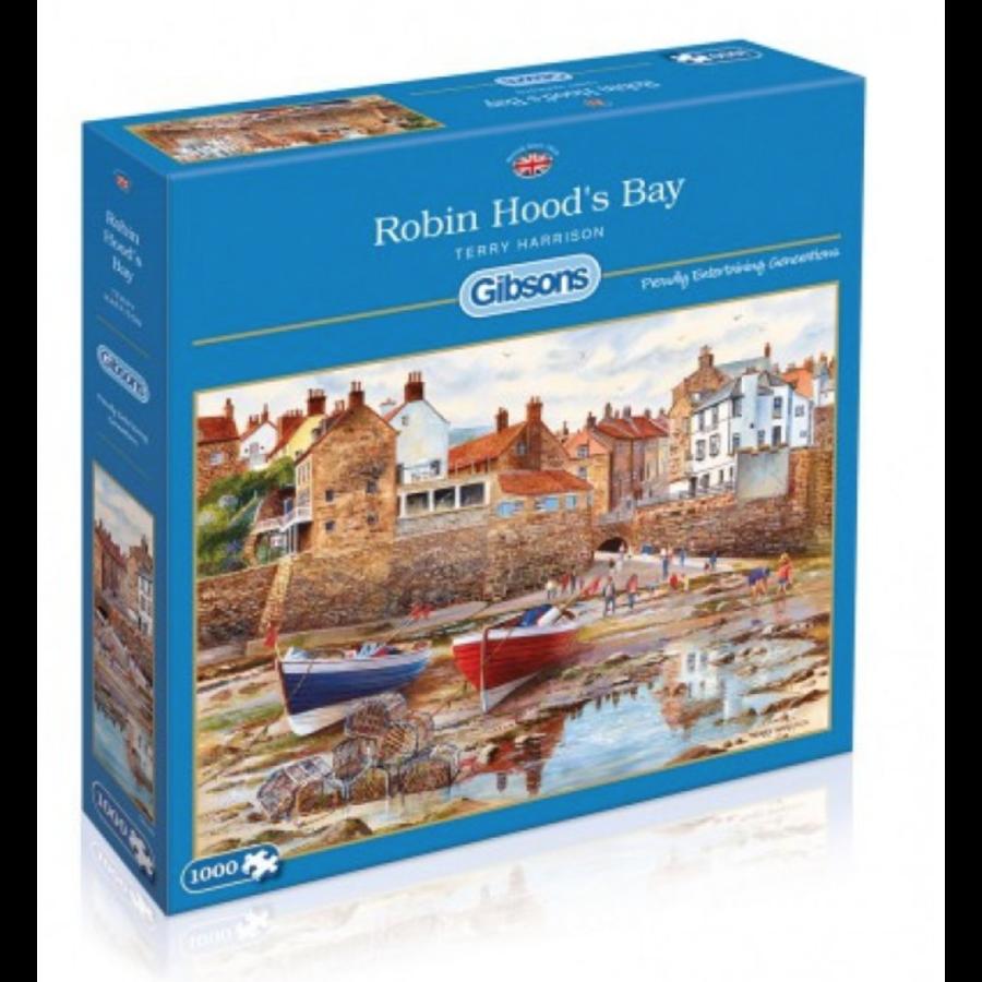 Robin Hood's Bay - puzzel van 1000 stukjes-1