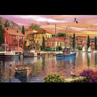thumb-Sails at Sunset - 2 puzzels van 500 stuks-2