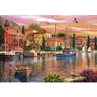 thumb-Sails at Sunset - 2 puzzles de 500 pièces-2