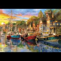 thumb-Sails at Sunset - 2 puzzels van 500 stuks-3