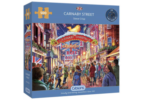 Gibsons Carnaby Street - puzzle 500 pieces
