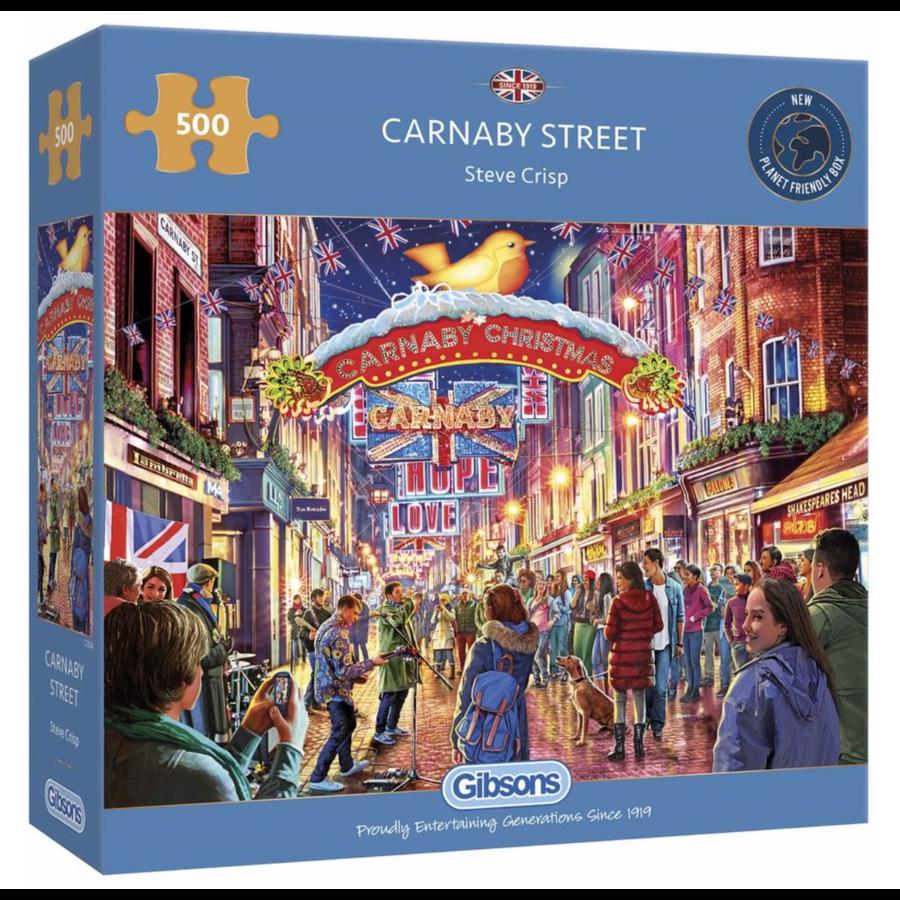 Carnaby Street - puzzel van 500  stukjes-1