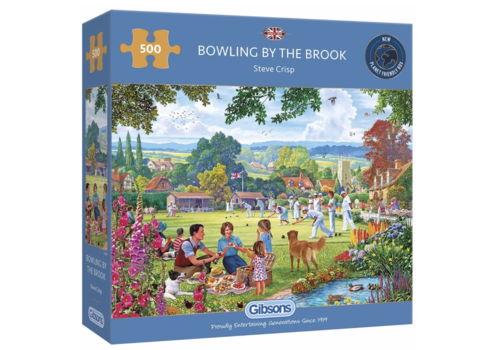Gibsons Bowling by the Brook - puzzle 500 pieces