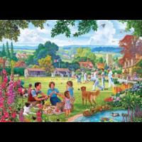 thumb-Bowling en Picknick - puzzel van 500  stukjes-2