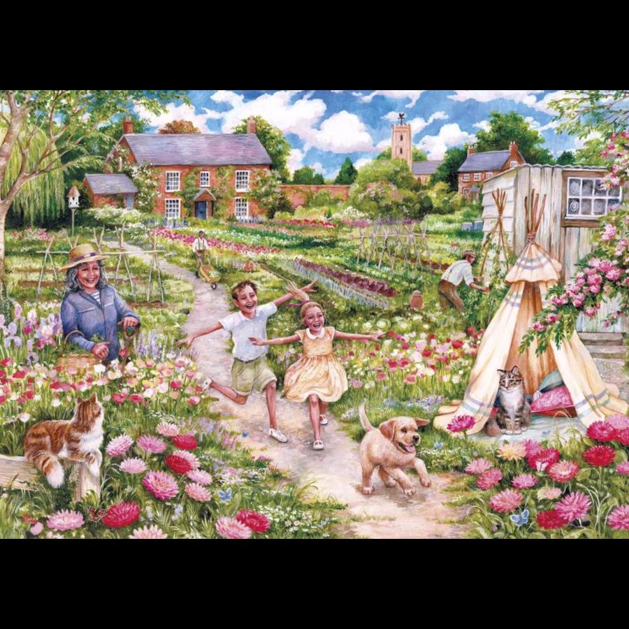 Herinneringen uit de kindertijd - puzzel van 500  stukjes-2