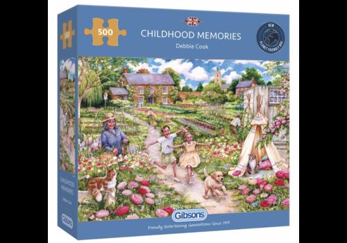 Gibsons Herinneringen uit de kindertijd - 500 stukjes