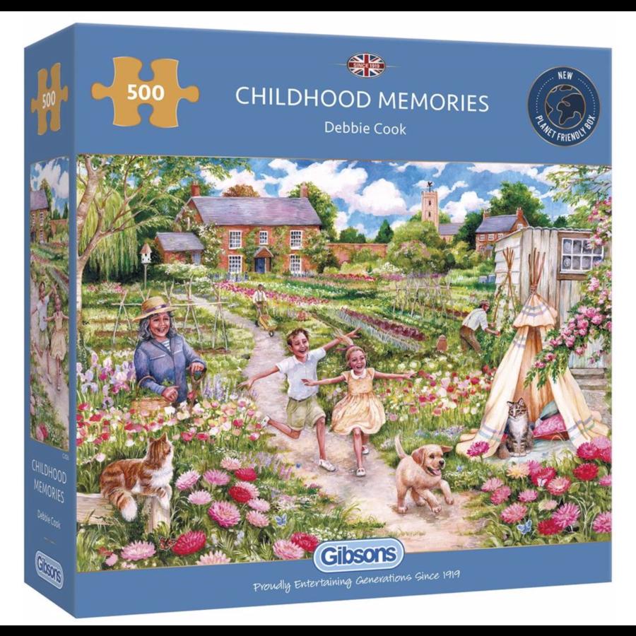 Herinneringen uit de kindertijd - puzzel van 500  stukjes-1