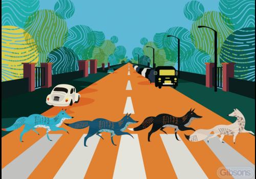 Gibsons Abbey Road Foxes - 500 stukjes