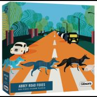 thumb-Abbey Road Foxes - puzzel van 500  stukjes-2