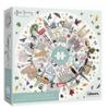 Gibsons Buildings of London - ronde puzzel van 500  stukjes