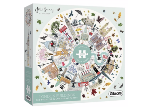 Gibsons Buildings of London - puzzle 500 pieces