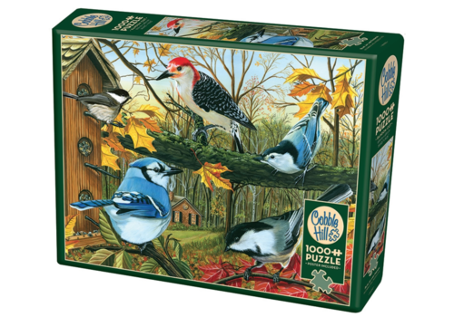 Cobble Hill The Blue Jay and friends - 1000 pieces