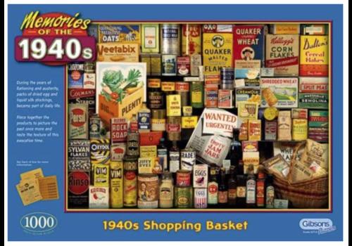 Gibsons Memories of 1940s - 1000 stukjes