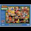 Gibsons Memories of 1950s - puzzel van 1000 stukjes