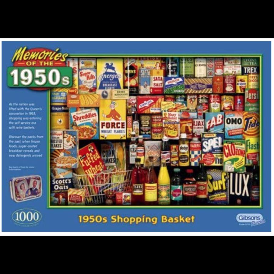 Memories of 1950s - puzzel van 1000 stukjes-1