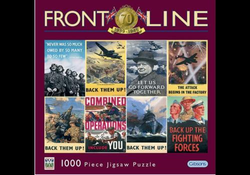 Gibsons Frontline - 1000 stukjes