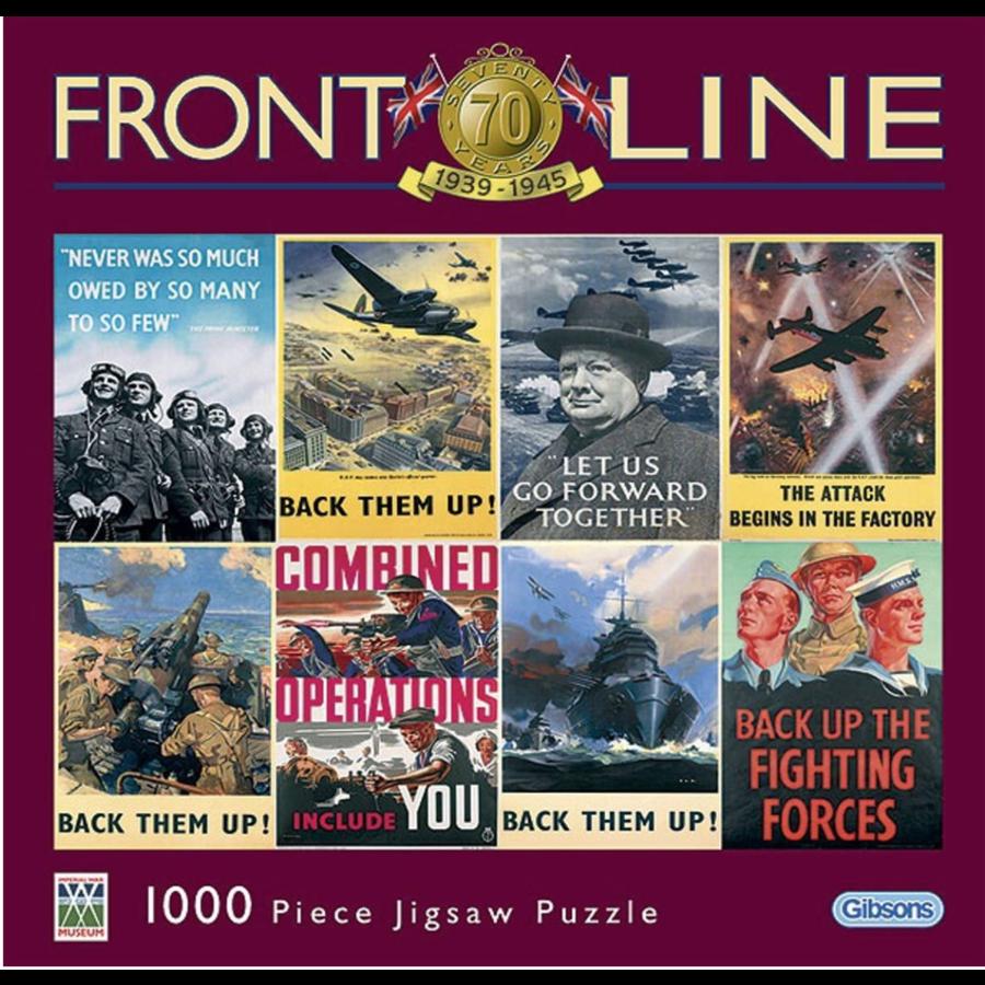 Frontline - puzzle de 1000 pièces-1