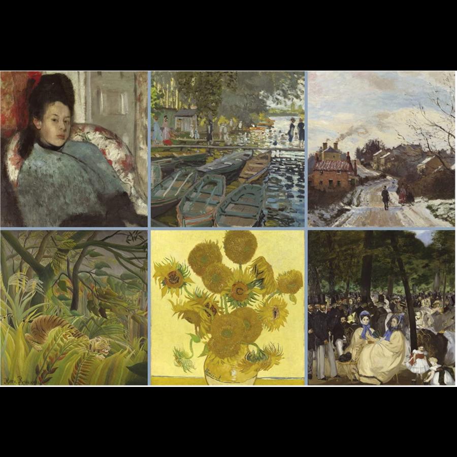 Impressionisten - legpuzzel van 1000 stukjes-2