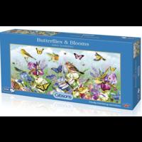 thumb-Butterflies & Blooms - puzzel van 636 stukjes-1