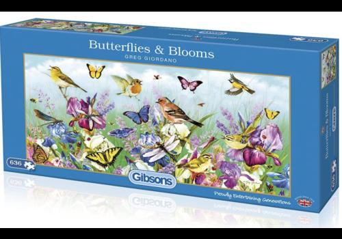 Gibsons Butterflies & Blooms - 636 pieces
