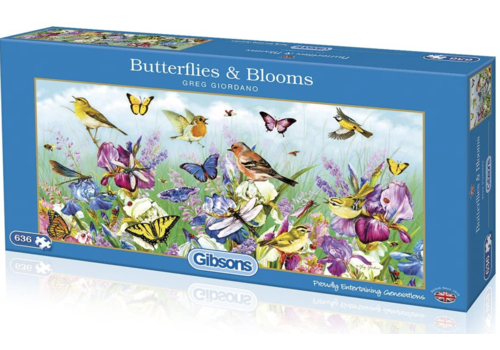 Gibsons Butterflies & Blooms - 636 stukjes
