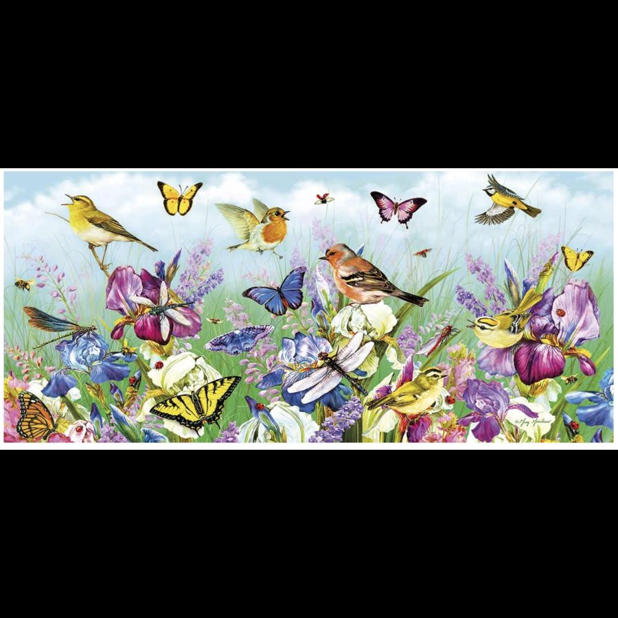 Butterflies & Blooms - puzzel van 636 stukjes-2