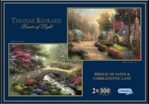 Gibsons Thomas Kinkade - 2 puzzels van 500 stuks