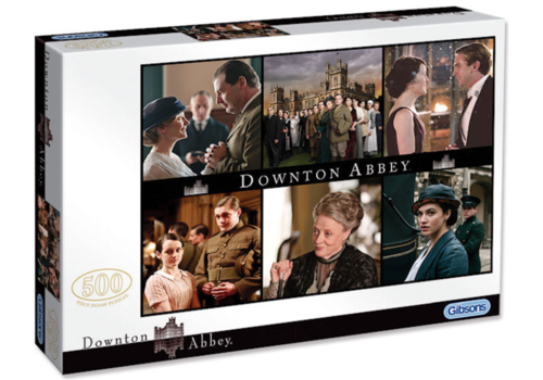 Gibsons Downton Abbey - 500 stukjes