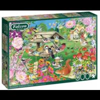 thumb-Oiseaux du jardin d'été - puzzle de 500 pièces-1