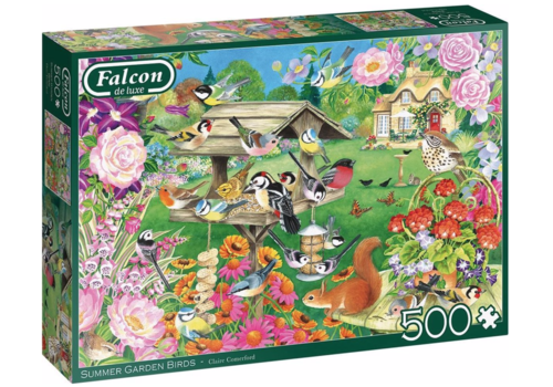 Falcon Summer Garden Birds  - 500 pieces