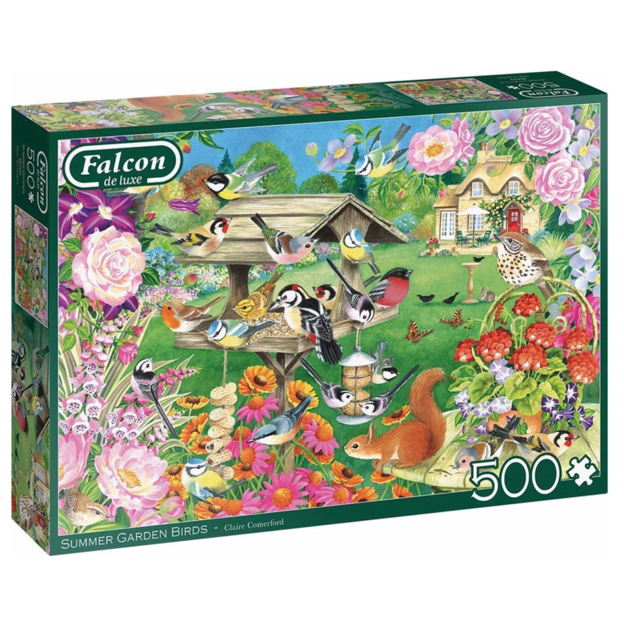Oiseaux du jardin d'été - puzzle de 500 pièces-1