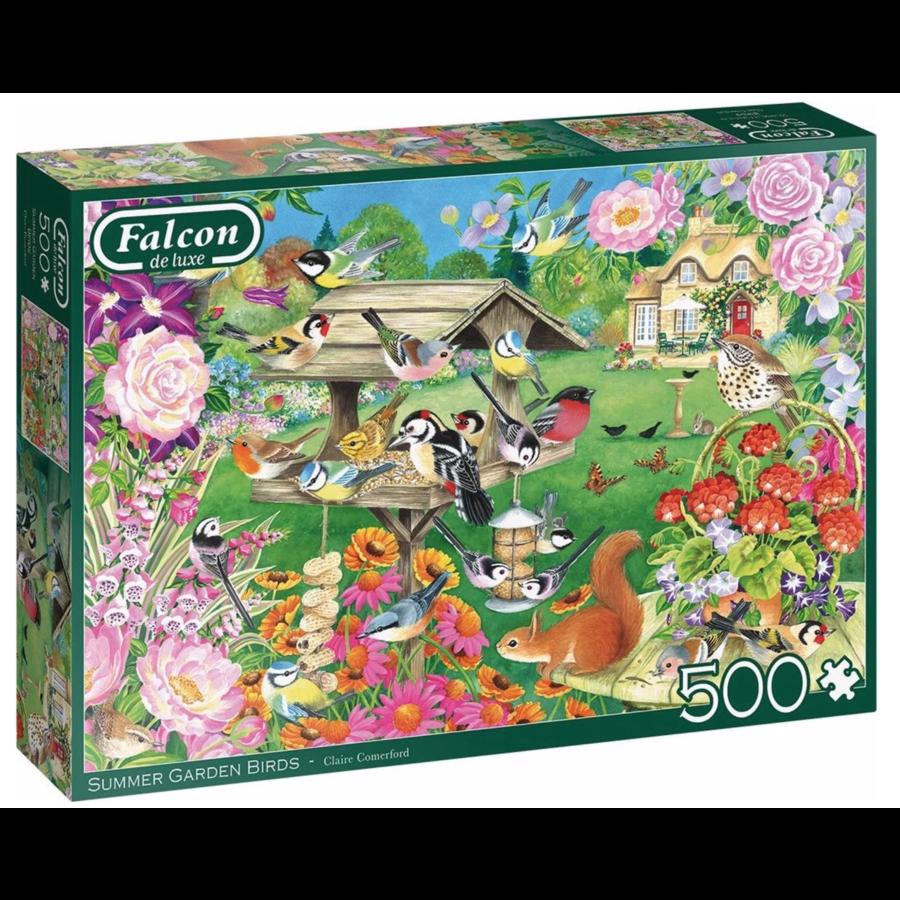 Zomerse tuinvogels - puzzel van 500 stukjes-1
