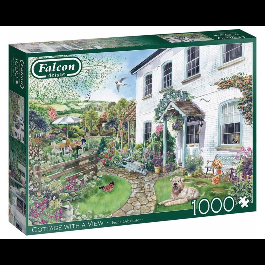 Cottage met uitzicht - puzzel van 1000 stukjes-1