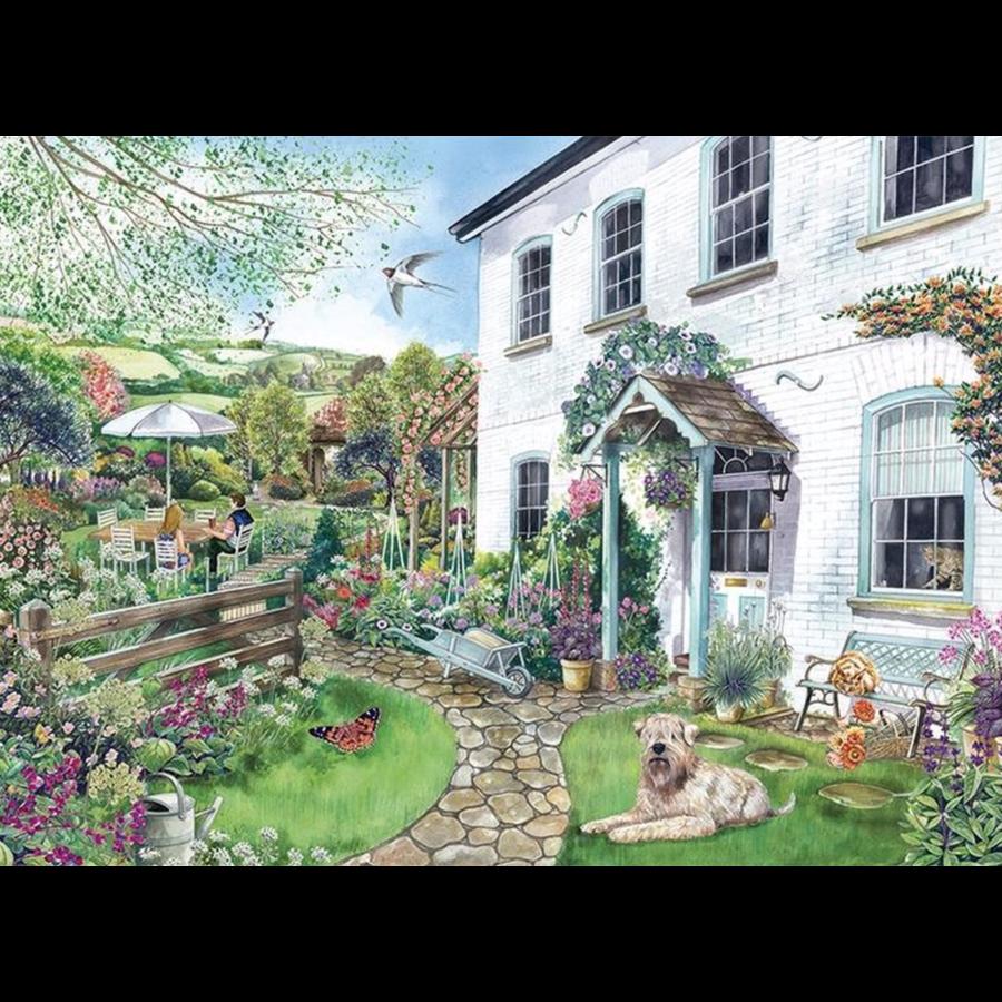 Cottage met uitzicht - puzzel van 1000 stukjes-2