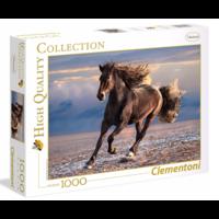 thumb-Wild Paard - puzzel van 1000 stukjes-1