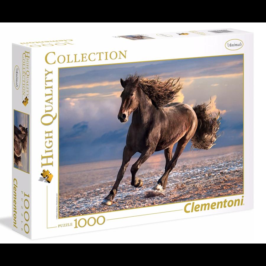 Cheval sauvage - puzzle de 1000 pièces-1