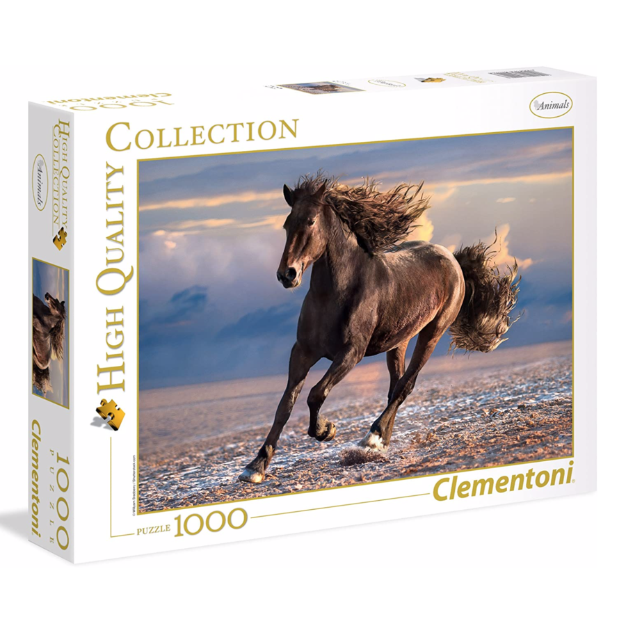 Wild Paard - puzzel van 1000 stukjes-1