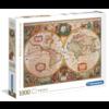 Clementoni Antieke Wereldkaart - puzzel van 1000 stukjes