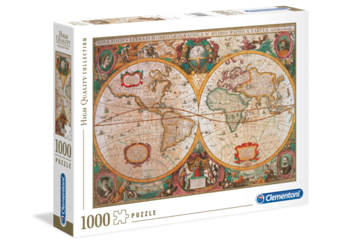Clementoni Mappa Antica - 1000 pieces