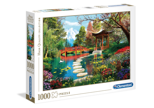 Clementoni Jardin Japonais - 1000 pièces