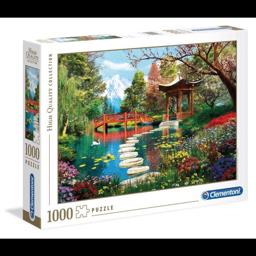 Japanse tuin - puzzel van 1000 stukjes-1