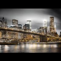thumb-Skyline van New York - puzzel van 1000 stukjes-2