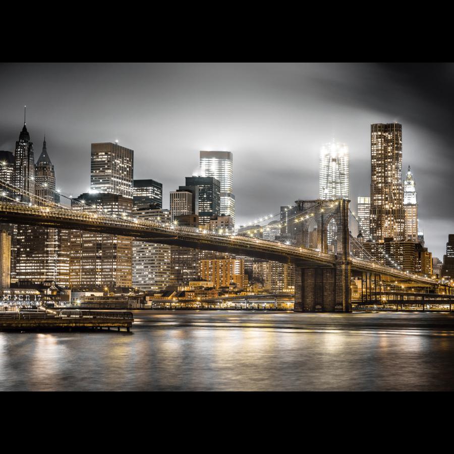 Skyline van New York - puzzel van 1000 stukjes-2