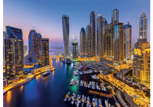 Clementoni Dubai - 1000 pièces