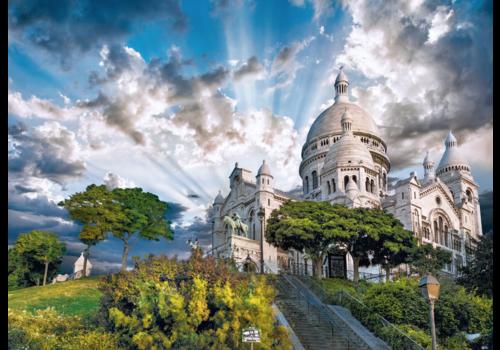 Clementoni Mont Martre - 1000 pièces