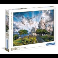 thumb-Mont Martre - puzzel van 1000 stukjes-2